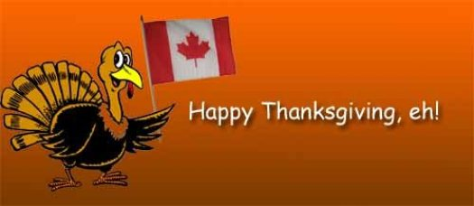 Canadian Thanksgiving: Happy Thanksgiving, Eh!
