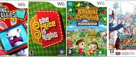 More Quick Wii Reviews: Rabbids TV, Price is Right, Animal Crossing, Tatsunoko vs. Capcom