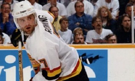 Sunday Snippet: Canucks' Cliff Ronning