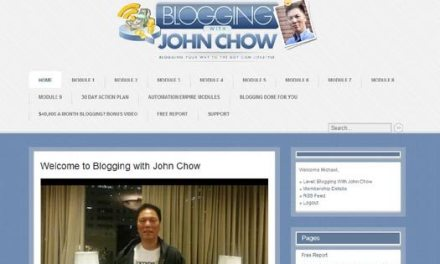A Review of Blogging with John Chow