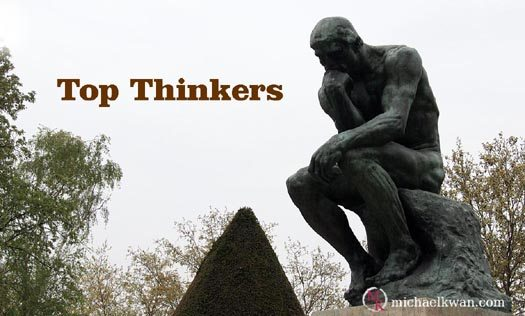 What's Up Wednesdays: November's Top Thinkers
