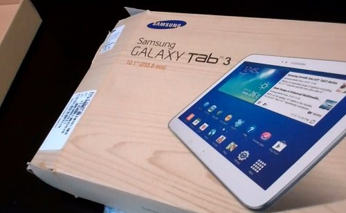 Samsung Galaxy Tab 3 10.1 Unboxing Video