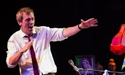 Sunday Snippet: Hugh Laurie on Timing