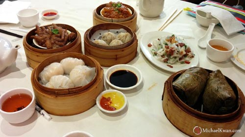 Dim Sum at Pelican Seafood Restaurant, East Vancouver