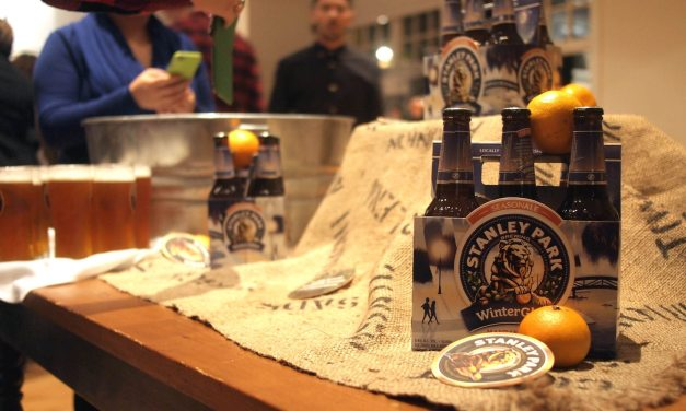 A WinterGlow Long Table Dinner with Stanley Park Brewing