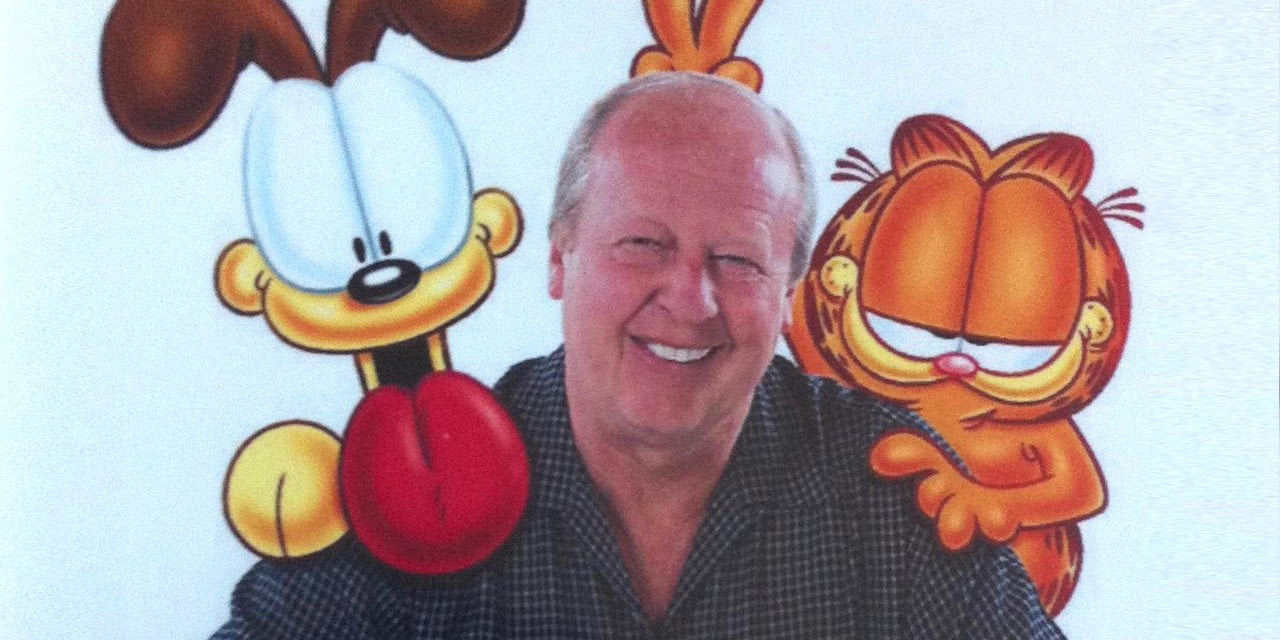Sunday Snippet: Jim Davis (Garfield)