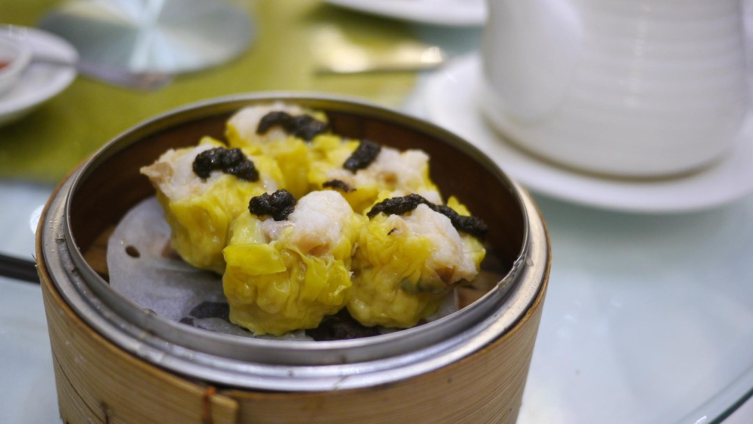 Truffle shui mai at Fortune Terrace Chinese Cuisine, Richmond BC