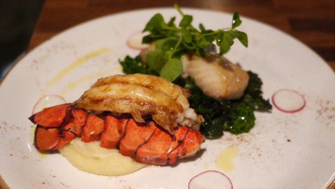 Sablefish and lobster - Riverway Clubhouse