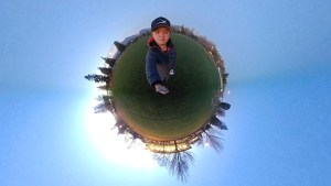 Little planet effect