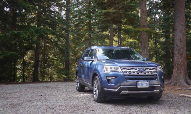 Driving the 2018 Ford Explorer to #5DadsGoWild