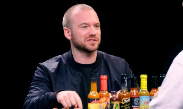 Sunday Snippet: Sean Evans (Hot Ones)