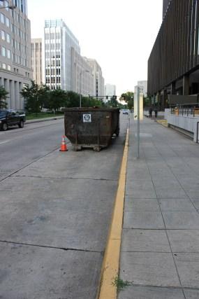 Garbage Dumpster in BR