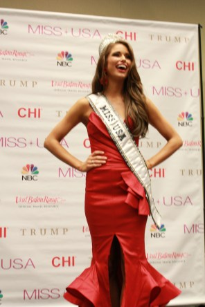 Miss USA 2014 - Nia Sanchez - Baton Rouge - 1st Press Conference - BTR360.COM - Kevin Woolsey Photo (19)