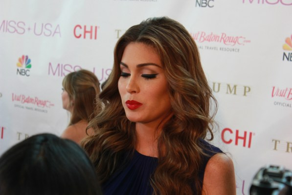 Miss USA Donald J Trump CHI Celebrity Red Carpet Visit Baton Rouge 360 Miss Universe Organization MUO Photo Kevin Woolsey (317)