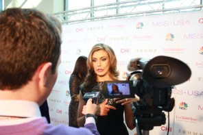 Miss USA Donald J Trump CHI Celebrity Red Carpet Visit Baton Rouge 360 Miss Universe Organization MUO Photo Kevin Woolsey (323)