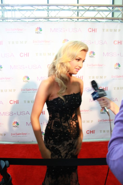 Miss USA Donald J Trump CHI Celebrity Red Carpet Visit Baton Rouge 360 Miss Universe Organization MUO Photo Kevin Woolsey (363)