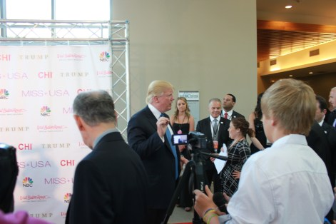 Miss USA Donald J Trump CHI Celebrity Red Carpet Visit Baton Rouge 360 Miss Universe Organization MUO Photo Kevin Woolsey (400)
