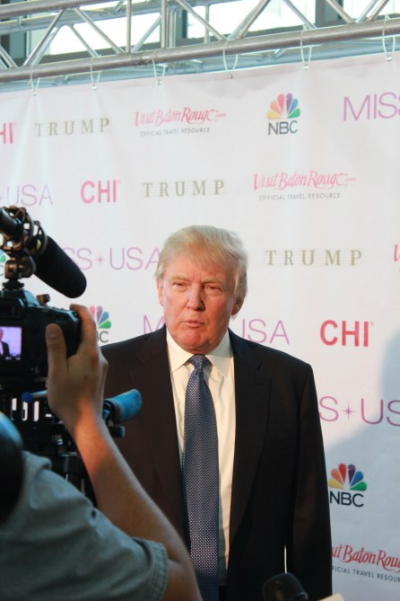 Miss USA Donald J Trump CHI Celebrity Red Carpet Visit Baton Rouge 360 Miss Universe Organization MUO Photo Kevin Woolsey (419)