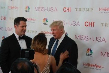 Miss USA Donald J Trump CHI Celebrity Red Carpet Visit Baton Rouge 360 Miss Universe Organization MUO Photo Kevin Woolsey (422)