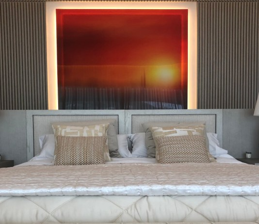 Bedroom with wall frame - BTR Awards 2020 - The Property Recruitment Company | BTR News