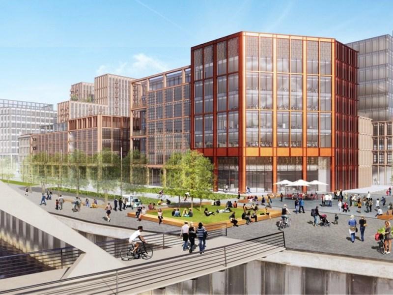 Buchanan Wharf Build to Rent scheme, Glasgow