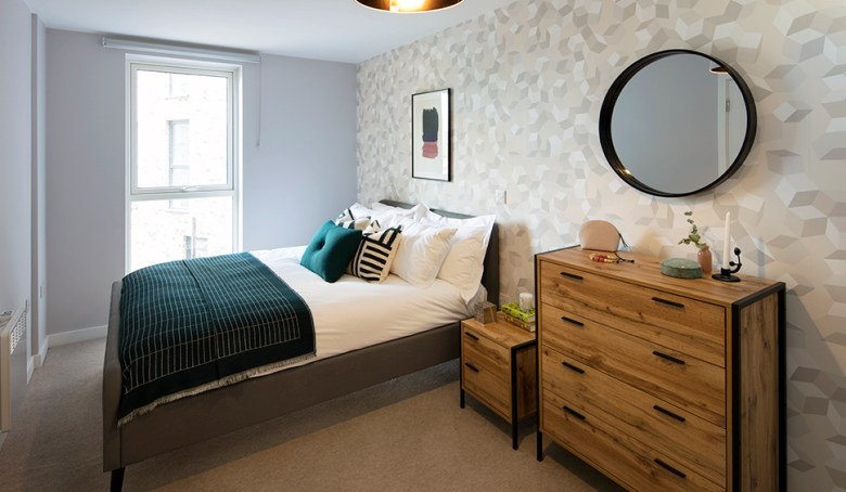 Bedroom, Clippers Quay BTR scheme