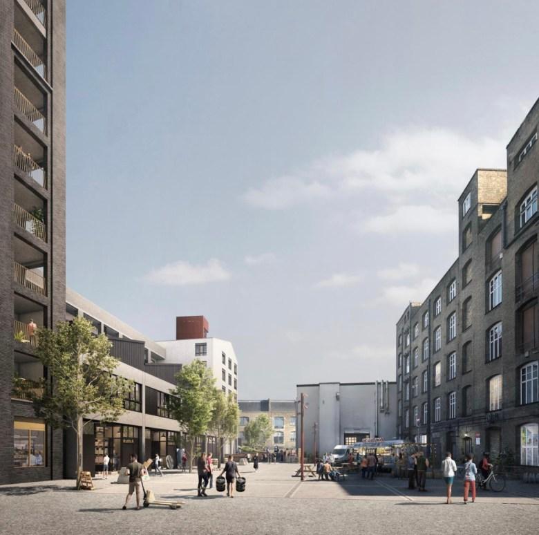 Hackney, London exterior view