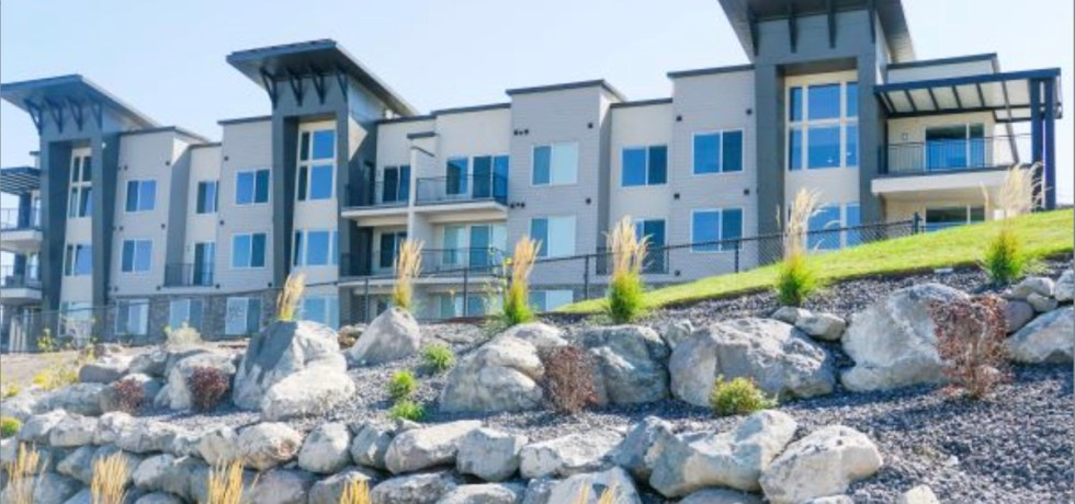 Soleil Lofts multifamily project, Herriman, Utah - external view