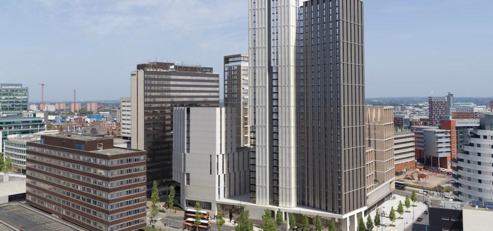 Exchange Square Build to Rent scheme, Birmingham