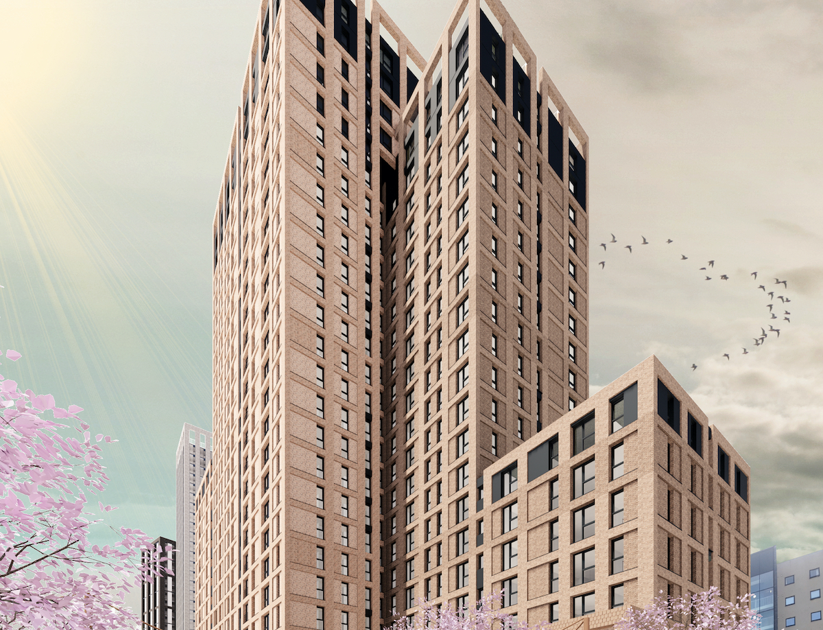 Planning submitted for BTR scheme in Piccadilly East, Manchester