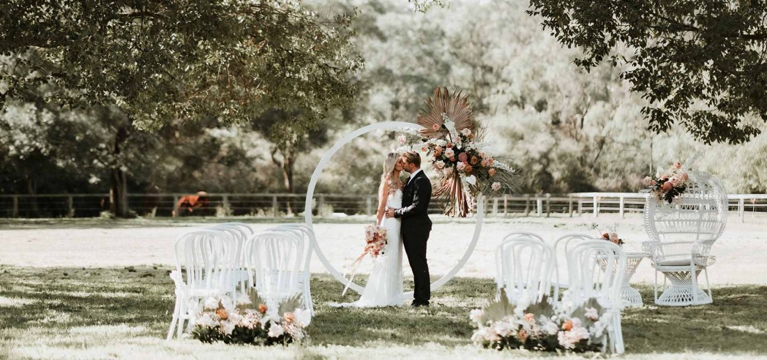 Bidja Estate Wedding Ceremony