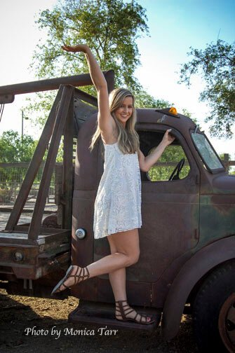 Hamilton High School Senior Portrait Photographed in Chandler Arizona
