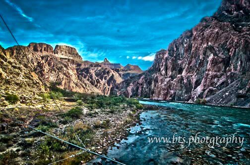Grand Canyon Hike with High Dynamic Range Photography
