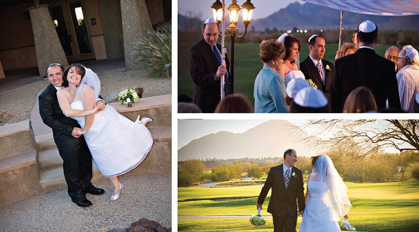 Traditional Jewish Wedding at Talking Stick Golf Club