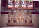 51 Clearwell, St Peter, the altar