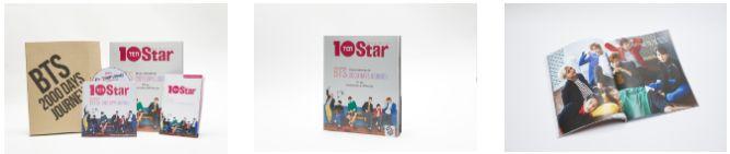 BTS スペシャルマガジン&オフショットDVD -10Star BTS - 2000 DAYS JOURNEY-