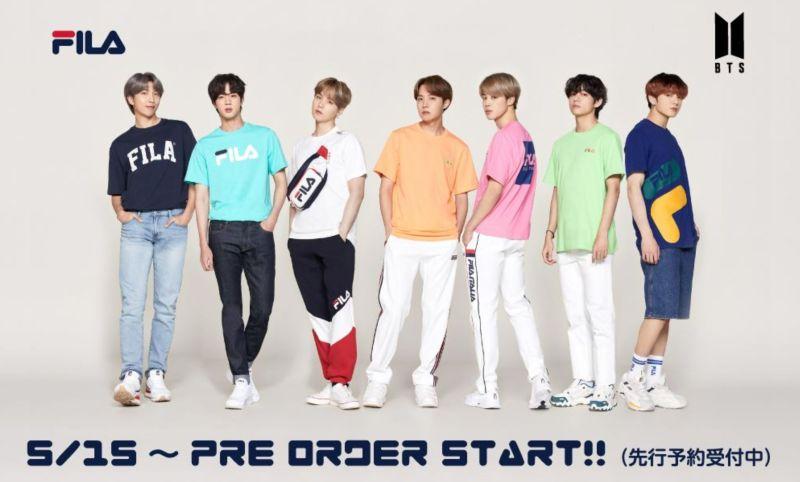 BTS FILA Tシャツ
