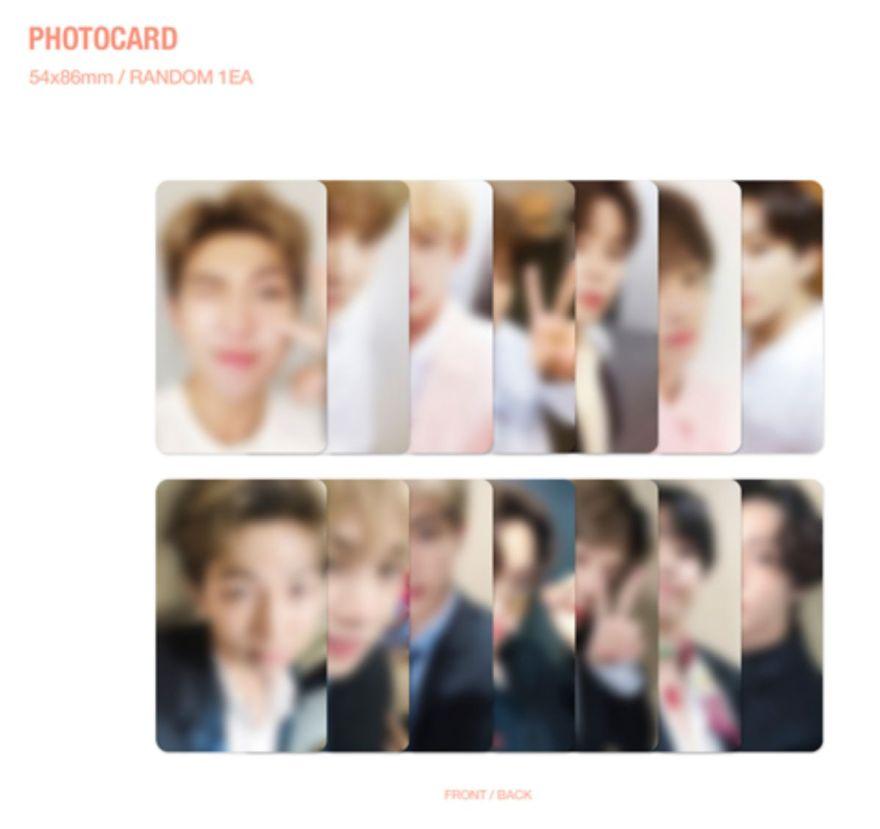BTS メモリーズ フォトカード