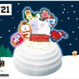 BT21 クリスマスケーキ