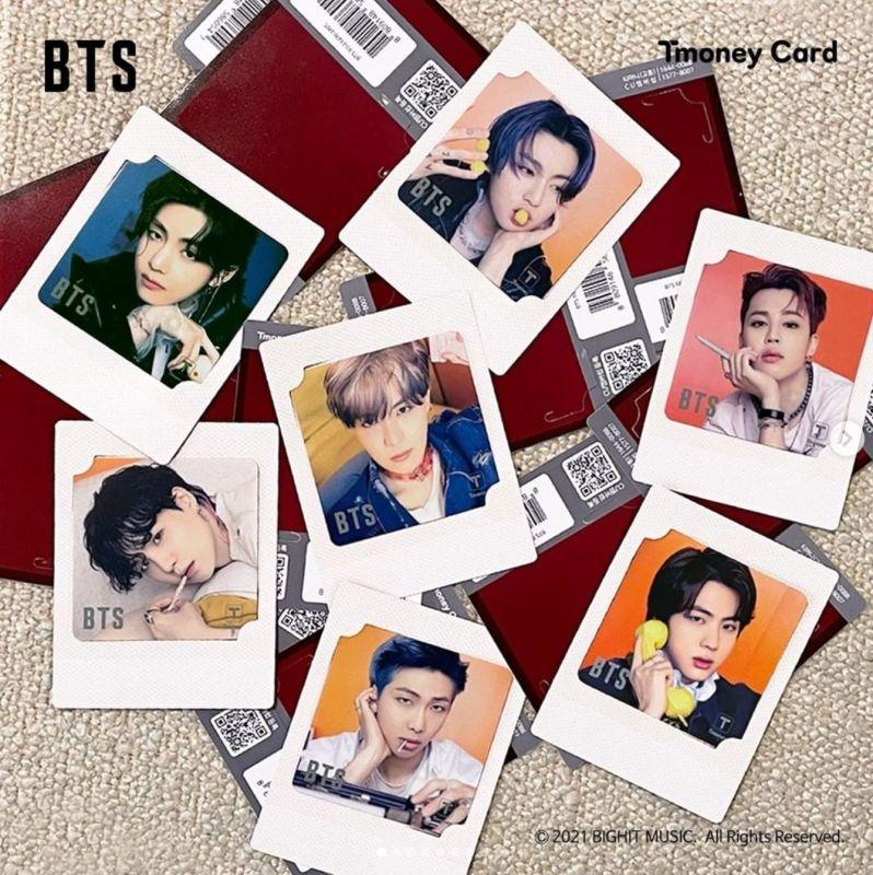 BTS T-moneyカード