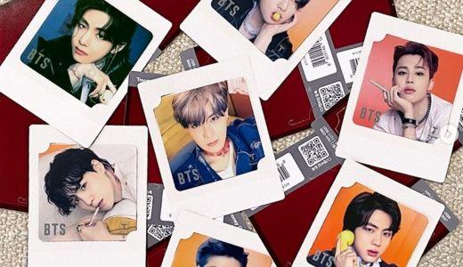 BTS  MINI T-moneyカードが発売!予約方法