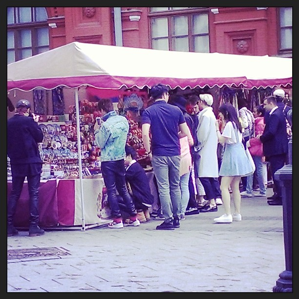 PictureFansnap BTS At Red Square Russia 140615