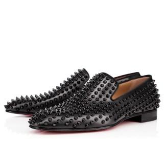 Christian Louboutin Dandelion Spiked Dandelion Venetian Loafers -$1,395