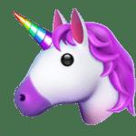 【絵文字】ユニコーン 馬 Unicorn