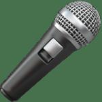 【絵文字】マイク mic Microphone