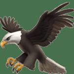 【絵文字】鷲 ワシ Eagle
