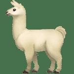 【絵文字】アルパカ Alpaca