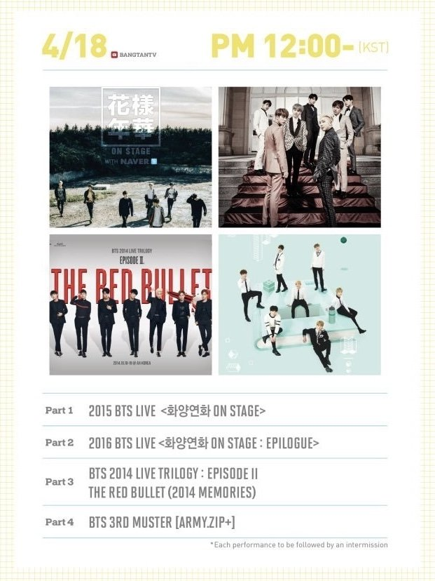 BTSオンラインコンサート BANG BANG CON 2020年4月18日