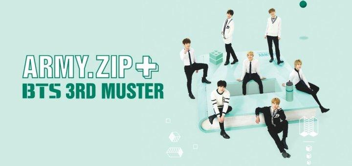 【セトリ】防弾少年団(BTS) BTS 3rd Muster [ARMY.ZIP+] (2016)