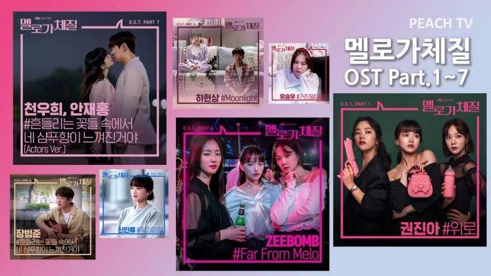 【韓国ドラマ】メロが体質❤︎OST主題歌や挿入歌